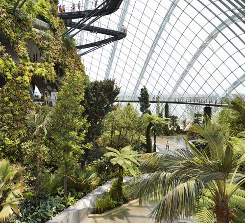 Conservatories in the Garden by the Bay