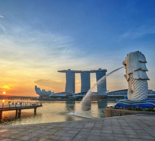 Merlion Marina Bay Sands