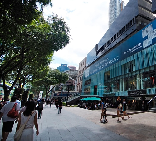 Orchard Road dekat Wheelock Place