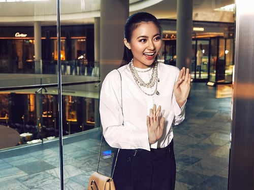 Cheryl Wee with Tiffany & Co.