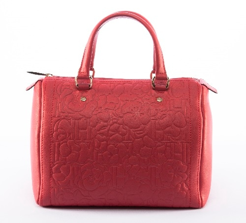 CH Carolina Herrera - Bouquet Andy Bag Warna Merah