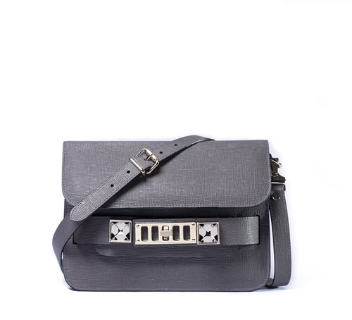 Proenza Schouler: PS11 warna Heather Grey - Mini Classic