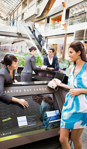 Layanan Concierge Ritel di The Shoppes at Marina Bay Sands