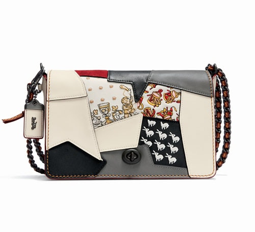 Front Row Fashion Week - Embellished Patchwork Dinky 24 dari Coach