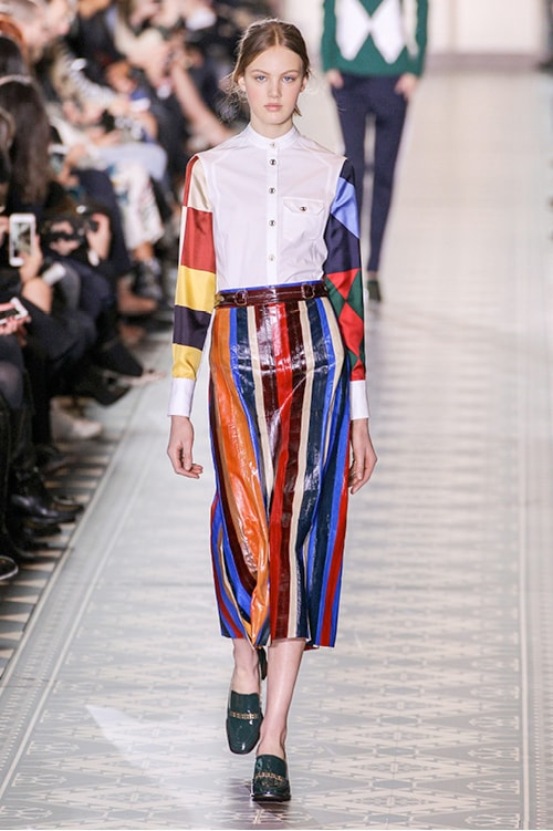 Penampilan Catwalk Tory Burch New York Fashion Week