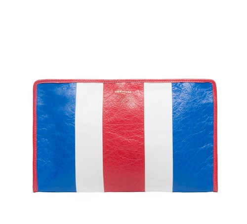 Bazar Pouch warna Blue White Red