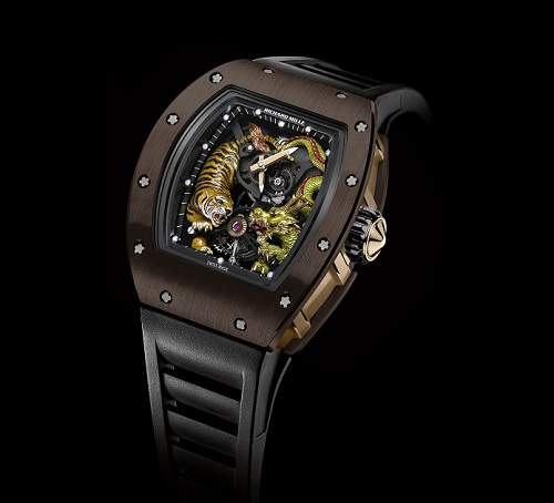 RM 51-01 Tourbillon Tiger and Dragon - Michelle Yeoh Asia Edition