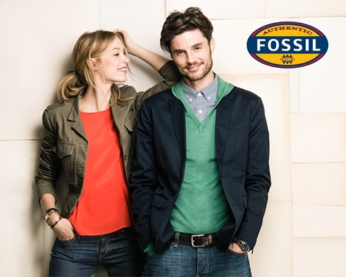 Fossil di the Shoppes Marina bay sands