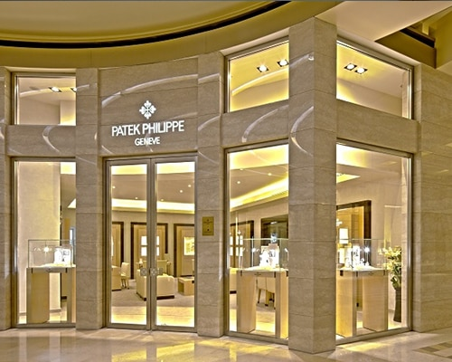 Patek Philippe at the Shoppes Marina bay sands